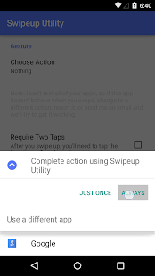 Swipeup Utility- screenshot thumbnail