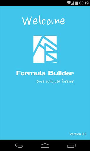 Formula Builder 公式构建器