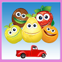 Flying frutta icon