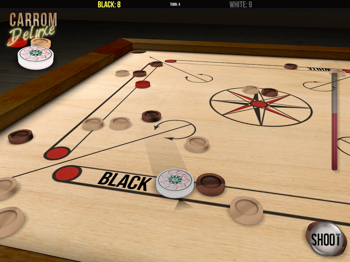 Carrom Deluxe Free- screenshot