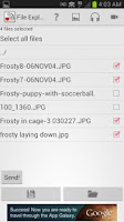 Screenshot of WiFi Direct Friends