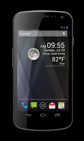 Weather Clock Widget 1.9.6.1 screenshot 24891
