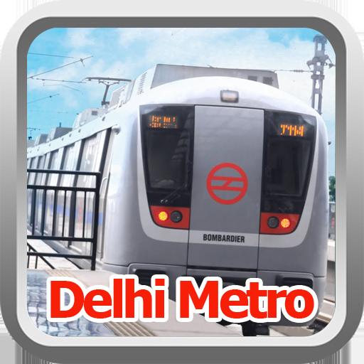 Delhi Metro Station Map