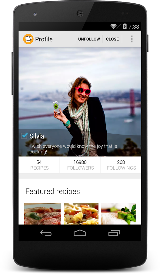 Cookpad - recipes app - screenshot