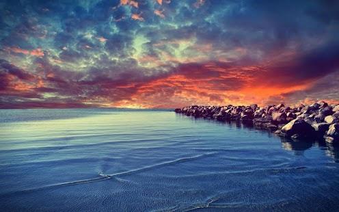 沙灘動態壁紙