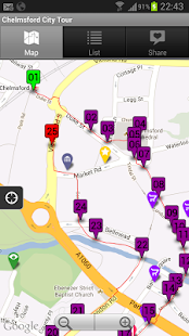 Visit Chelmsford's City Guide- screenshot thumbnail
