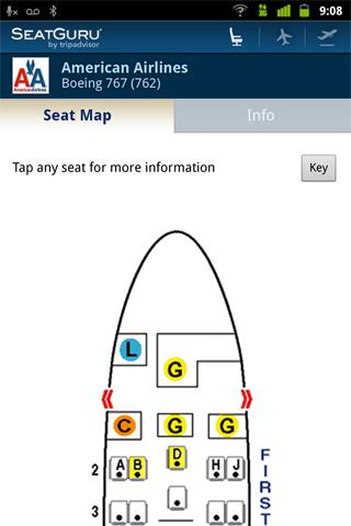 SeatGuru: Maps+Flights+Tracker - screenshot