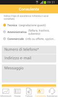 Screenshot of Area Clienti Aziende - FASTWEB