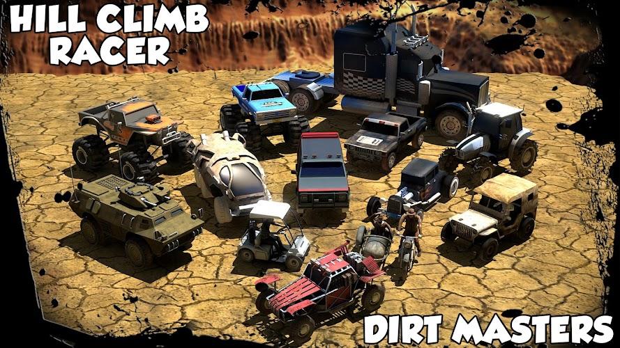 Hill Climb Racer Dirt Masters Mod Apk v1.081