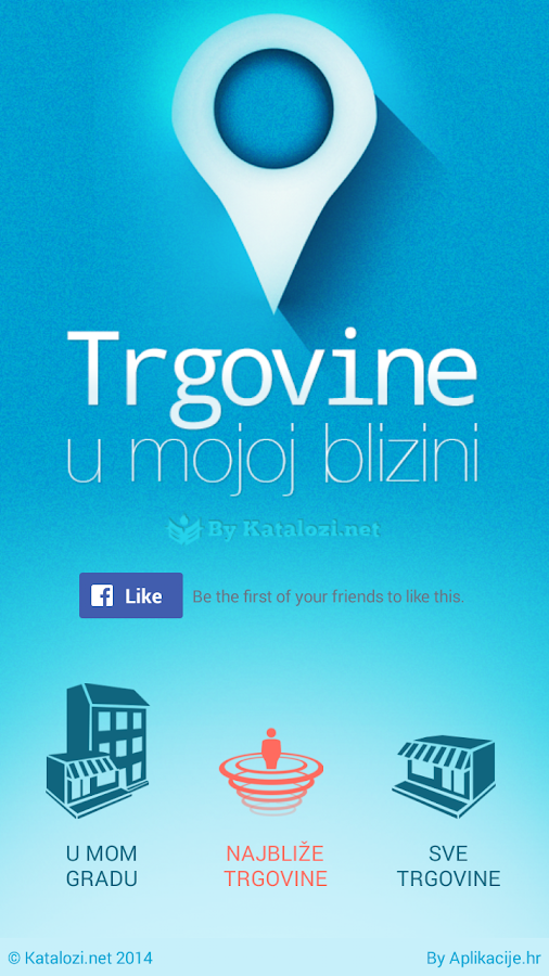 Trgovine- screenshot