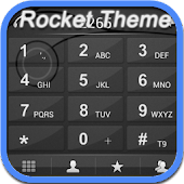 RocketDial Keo Black Theme