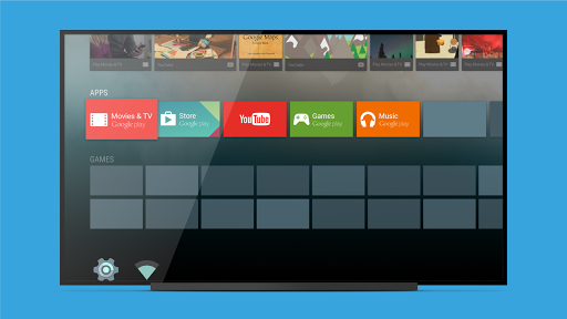 Android TV Launcher for PC