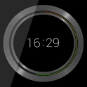 Black UI Clock UCCW icon