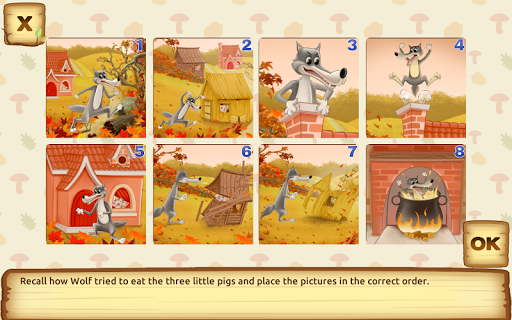 玩免費教育APP|下載Three Little Pigs for kids 3+ app不用錢|硬是要APP