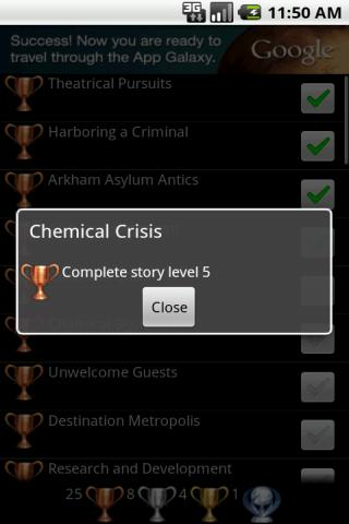 Trophies 4 Lego Batman 2 - screenshot