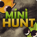 MiniHunt – cute hide and seek logo