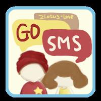 ZLOTUSLOVE GO SMS Theme 1.0