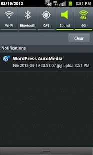 WordPress AutoMedia - screenshot thumbnail