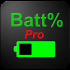 Pro percentagem de bateria icon