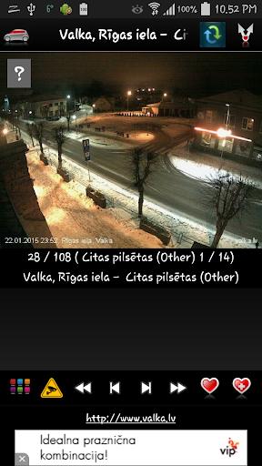 Latvijas vebkameras