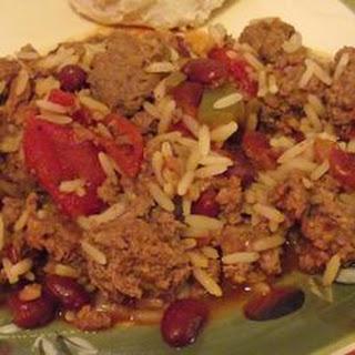Cajun Chow Mein