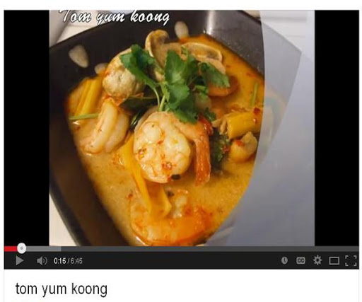 Thai Food Recipes VDO