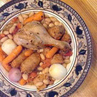Old-Fashioned Duck, Sausage and Bean Cassoulet Recipe