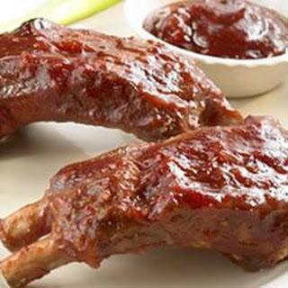 Cranberry-Barbecue Pork Ribs