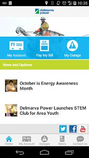 Delmarva Power Self-Service - screenshot thumbnail