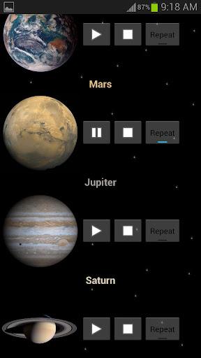 玩免費娛樂APP|下載行星和空間的聲音 app不用錢|硬是要APP