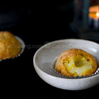 Cheese-Crusted Ripe Plantain Balls