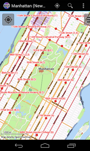 Manhattan City Map Lite