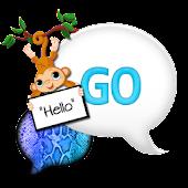 GO SMS THEME|SnakeskinMonkey