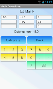 Matrix Determinant Calculator- screenshot thumbnail