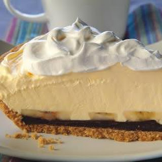 Creamy Banana-Chocolate Pie.
