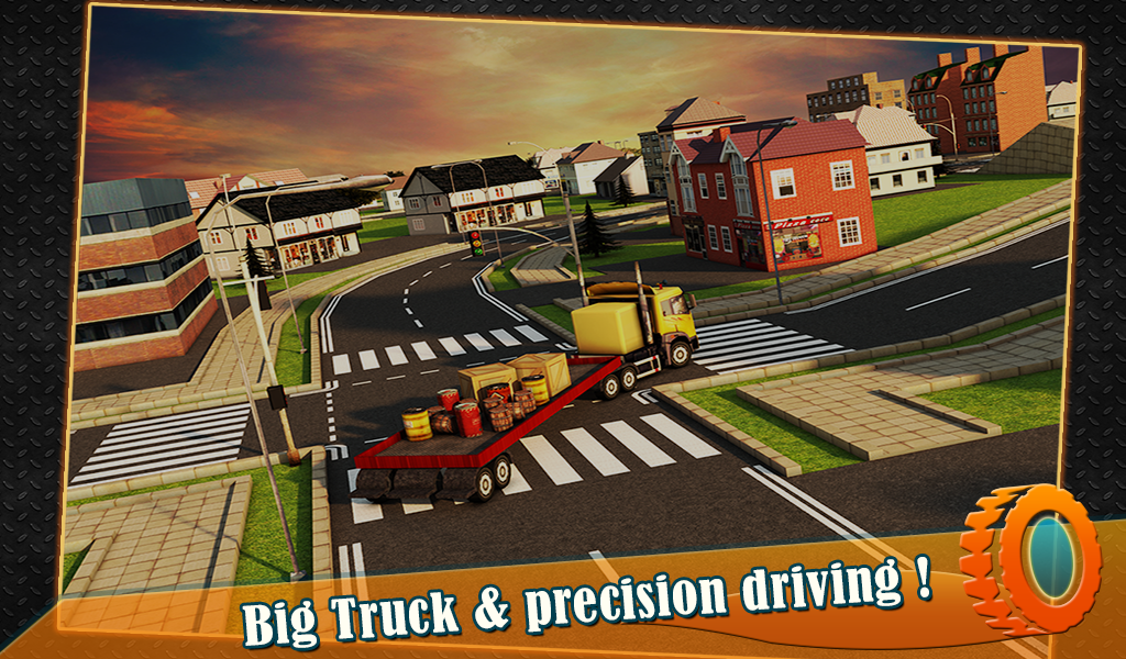 Transport Trucker 3D- screenshot