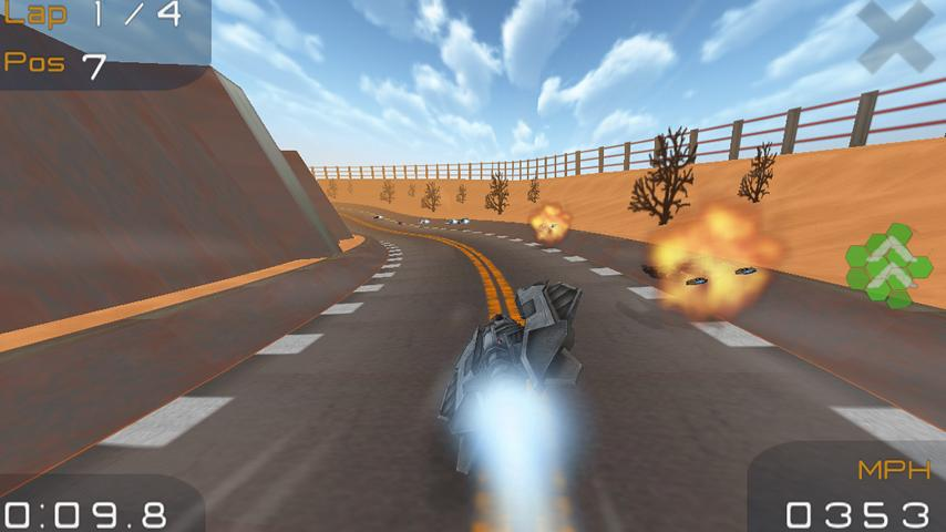 TurboFly HD - screenshot