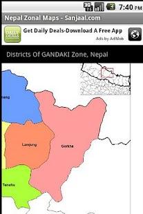 Nepal Zonal Maps- screenshot thumbnail