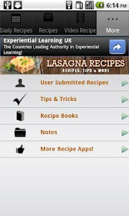 Lasagna Recipes!- screenshot thumbnail