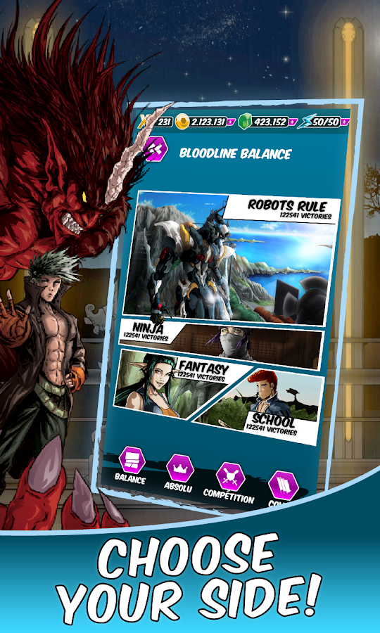Dengen Chronicles TCG - screenshot