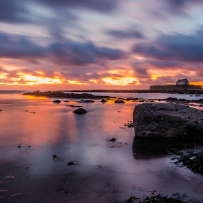Church in the sea by Don Cardy - Landscapes Sunsets & Sunrises (  )