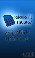 Screenshot of Cálculo Tributos PJ