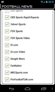 Oakland Football News- screenshot thumbnail