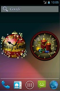 Christmas Clock Widgets - screenshot thumbnail