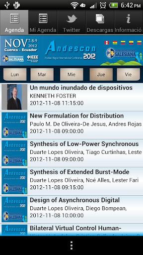 Andescon 2012