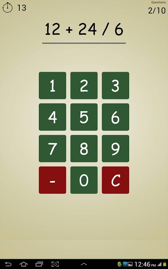 Maths Expert - screenshot