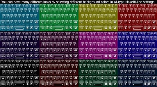Theme for A.I.type Transparent v1.0