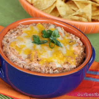 Quick and Easy Mexican Dip.