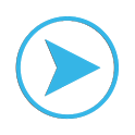Ubermusic Skins: ICS Blue icon