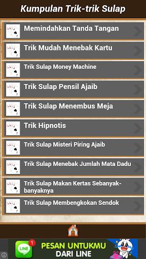 Kumpulan Trik Sulap Master